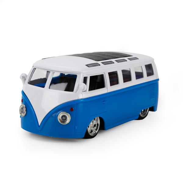 Купить Металлический инерционный автобус, 12, 5 см, свет, звук, Технопарк