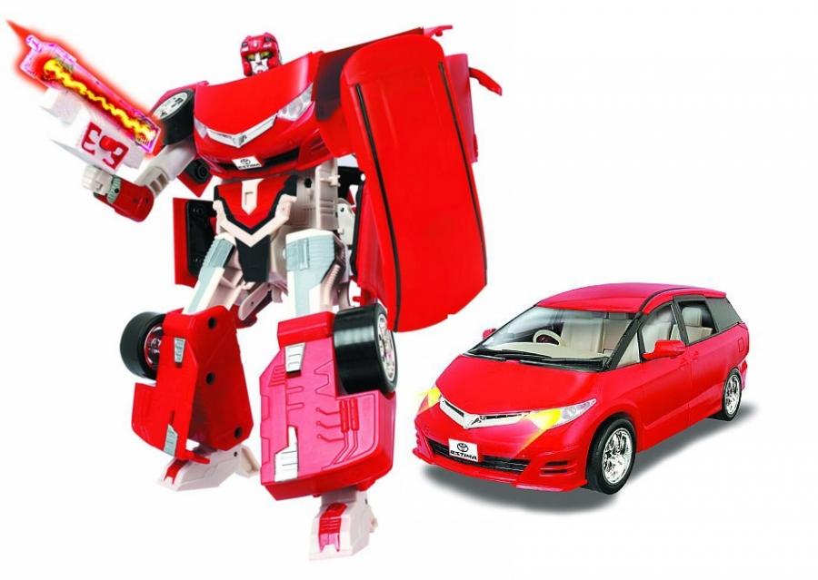 Робот из серии Galaxy Defender - Toyota Estima, 1:24, со светом и аксессуарамиИгрушки трансформеры<br>Робот из серии Galaxy Defender - Toyota Estima, 1:24, со светом и аксессуарами<br>