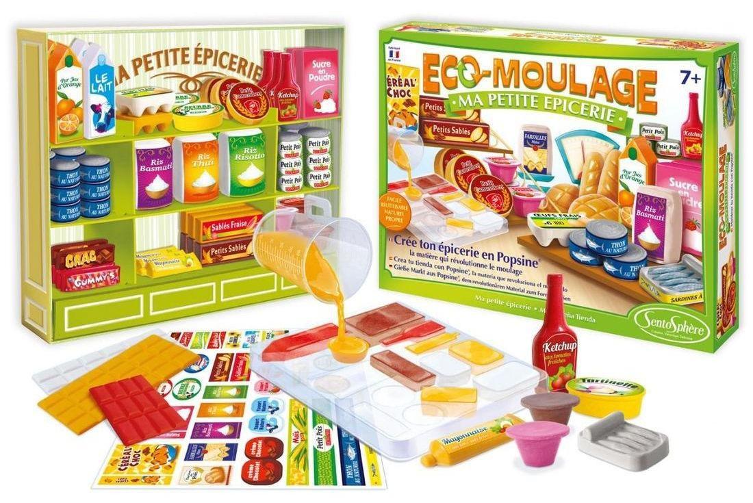 Купить Набор для детского творчества Попсин - Продуктовый, SentoSpherE