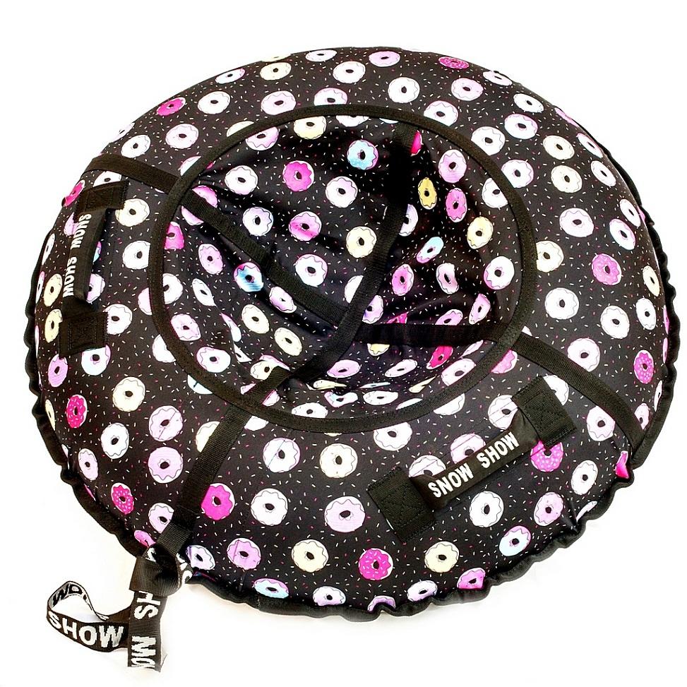 Купить Санки надувные - Тюбинг RT - Пончики, диаметр 118 см