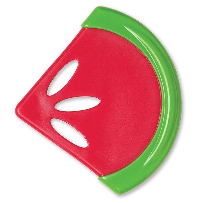 Успокаивающий, охлаждающий прорезыватель - АрбузДетские погремушки и подвесные игрушки на кроватку<br>Успокаивающий, охлаждающий прорезыватель - Арбуз<br>