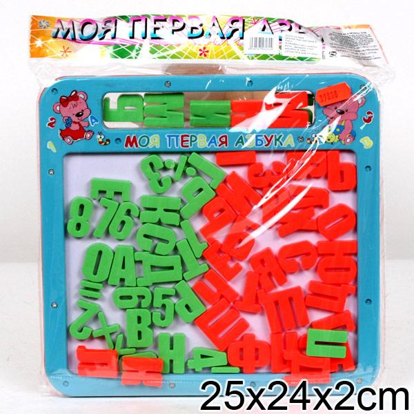 Купить Доска магнитная с русским алфавитом и цифрами, Играем вместе