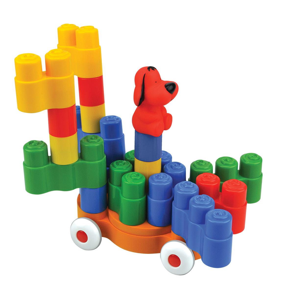 Конструктор - Едем в городРазвивающие игрушки K-Magic от KS Kids<br>Конструктор - Едем в город<br>