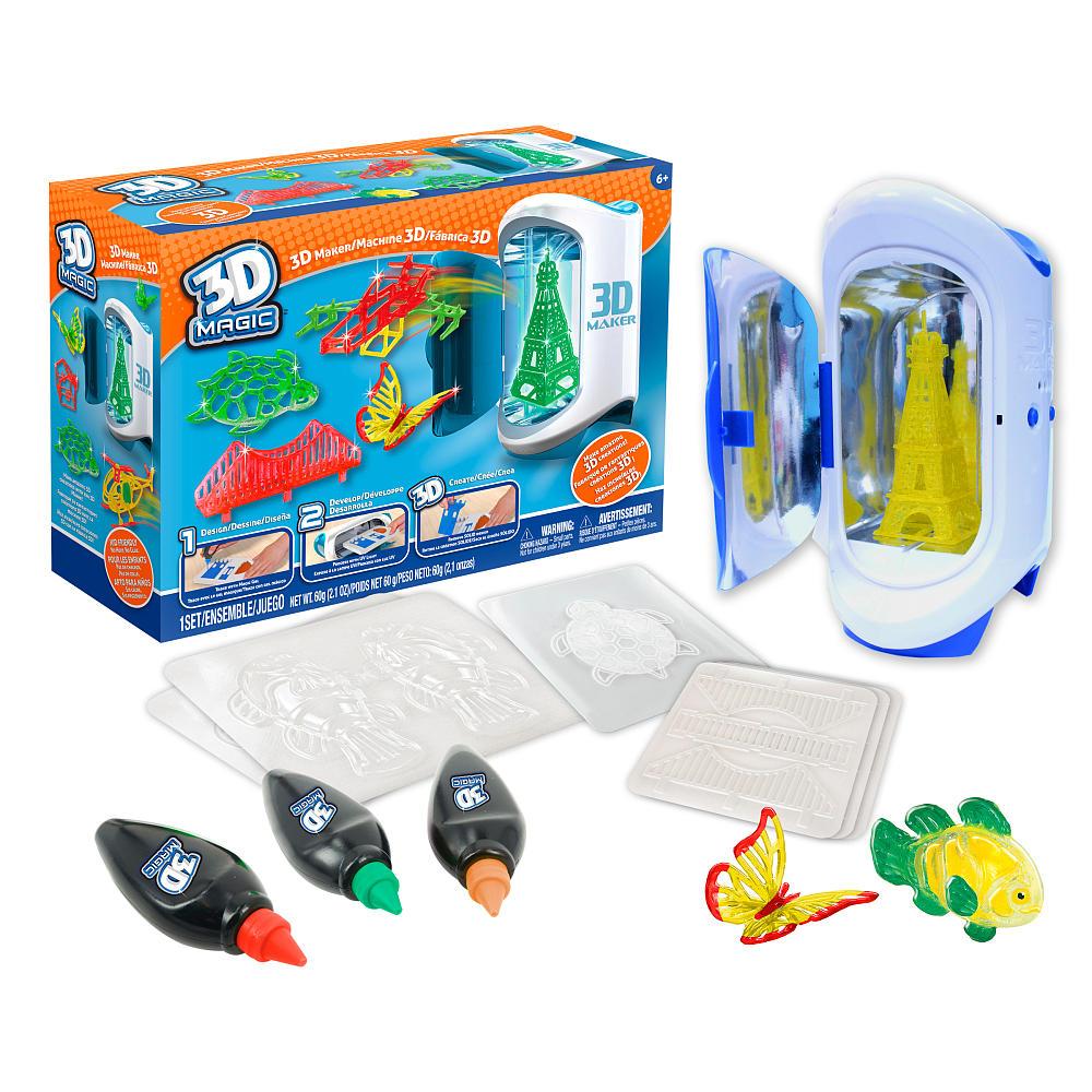Набор для создания объемных моделей 3D Maker - Детский 3D принтер QIXELS, артикул: 148553