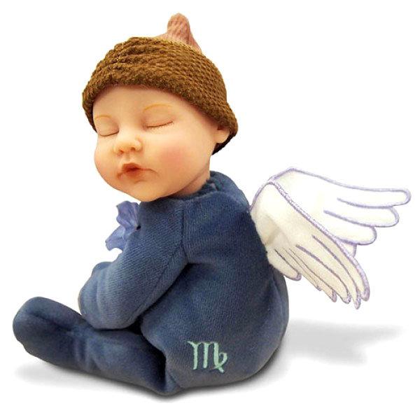 Купить Кукла-младенец из серии Знаки зодиака – Дева, 23 см., Unimax