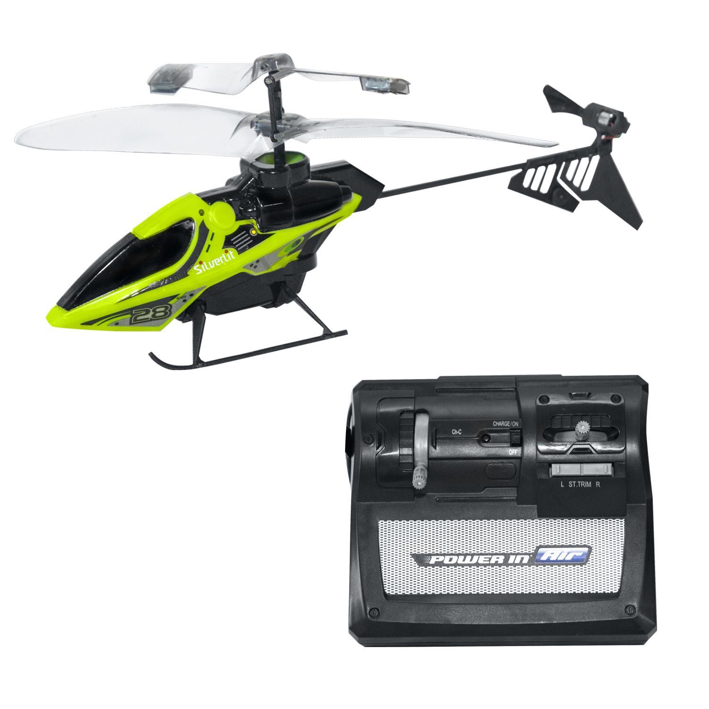 Вертолет 2-х канальный на радиоуправлении - Мой первый вертолет, зеленый