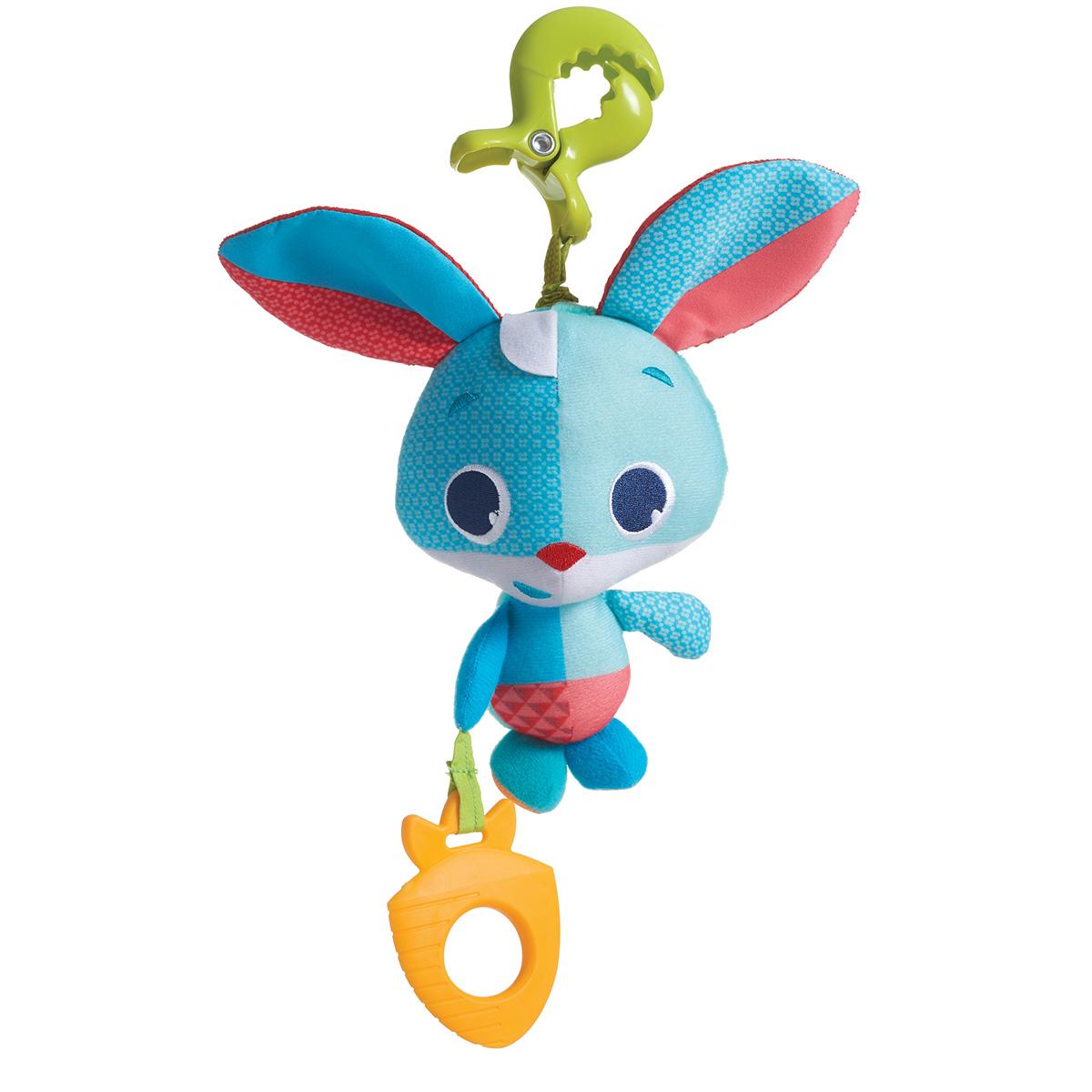 Игрушка подвеска – Зайчик, с прорезывателемДетские погремушки и подвесные игрушки на кроватку<br>Игрушка подвеска – Зайчик, с прорезывателем<br>