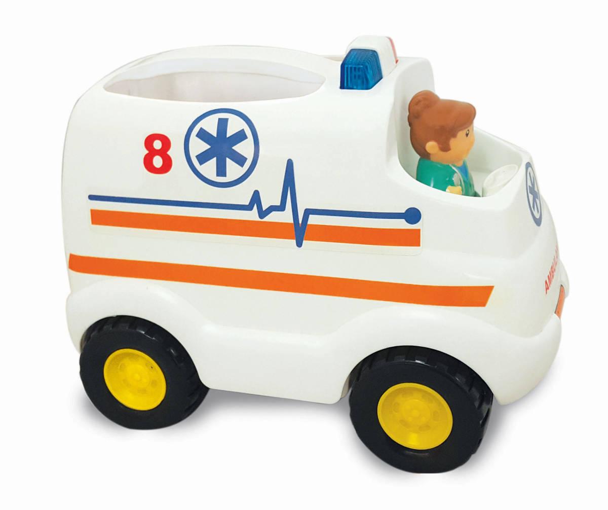 Развивающая игрушка Скорая помощь - Машинки для малышей, артикул: 158869