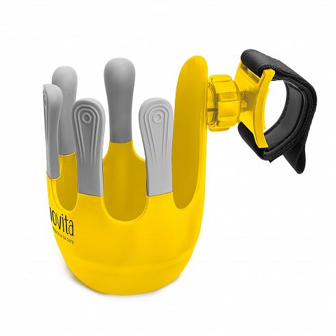 Подстаканник для коляски Tengo, giallo/желтый фото