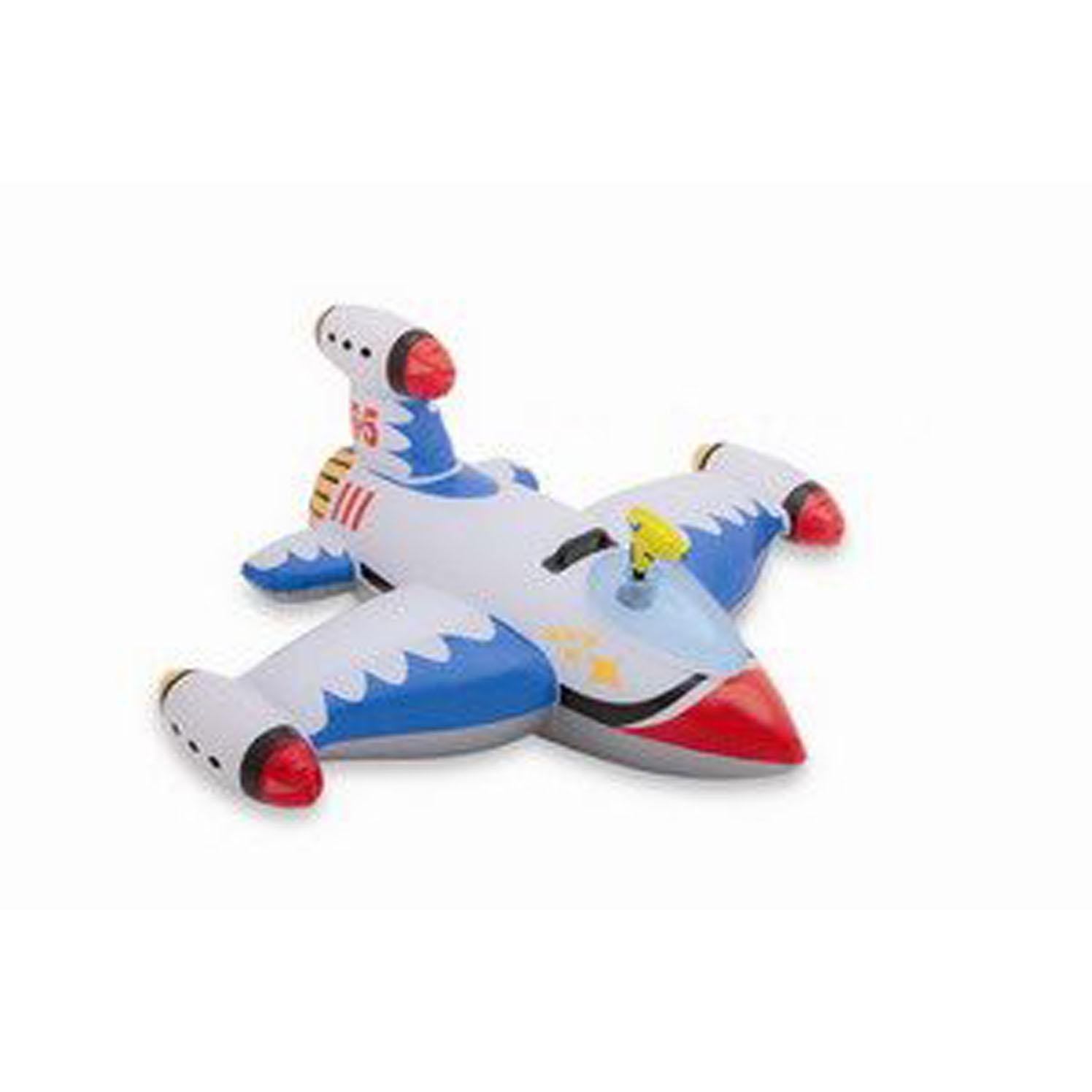Самолет космический, надувной  для катания детейНадувные животные, круги и матрацы<br>Самолет космический, надувной  для катания детей<br>