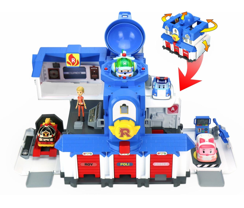 Игровой набор «Штаб квартира 2.0» Поли - Robocar Poli. Робокар Поли и его друзья, артикул: 133244