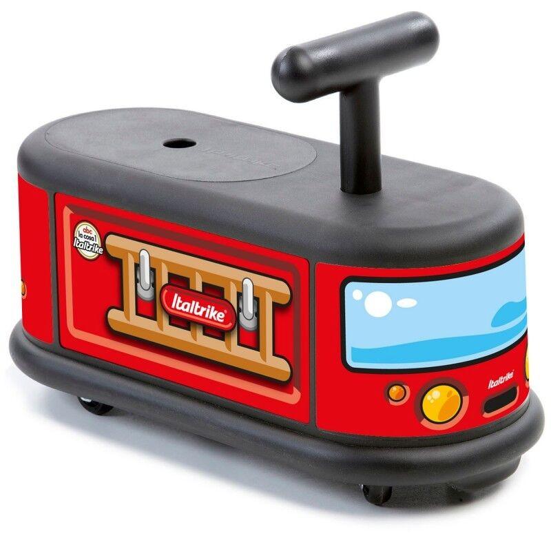 Каталка Пожарная машина с поворотными колесами фото