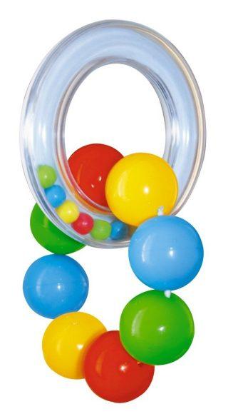 Погремушка - Веселый браслетикДетские погремушки и подвесные игрушки на кроватку<br>Погремушка - Веселый браслетик<br>