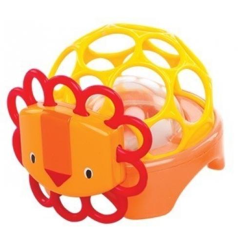 Погремушка Зоопарк ЛевДетские погремушки и подвесные игрушки на кроватку<br>Погремушка Зоопарк Лев<br>