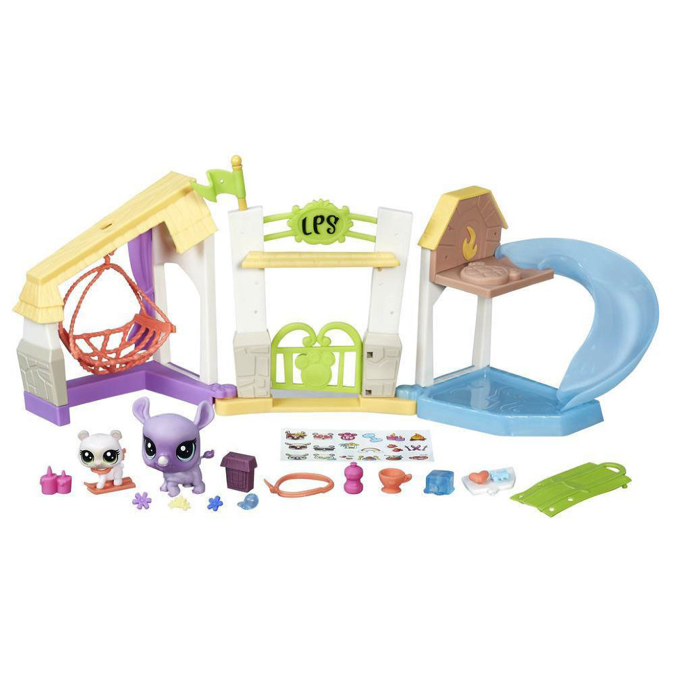 Littlest Pet Shop. Набор - Парк отдыха, серия Pets in the CityLittlest Pet Shop – Маленький зоомагазин<br>Littlest Pet Shop. Набор - Парк отдыха, серия Pets in the City<br>