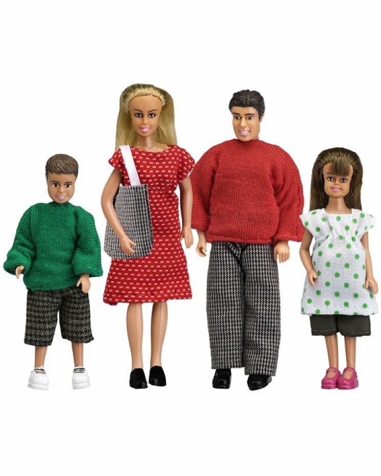 Набор кукол для домика из серии Смоланд – CемьяКукольные домики<br>Набор кукол для домика из серии Смоланд – Cемья<br>