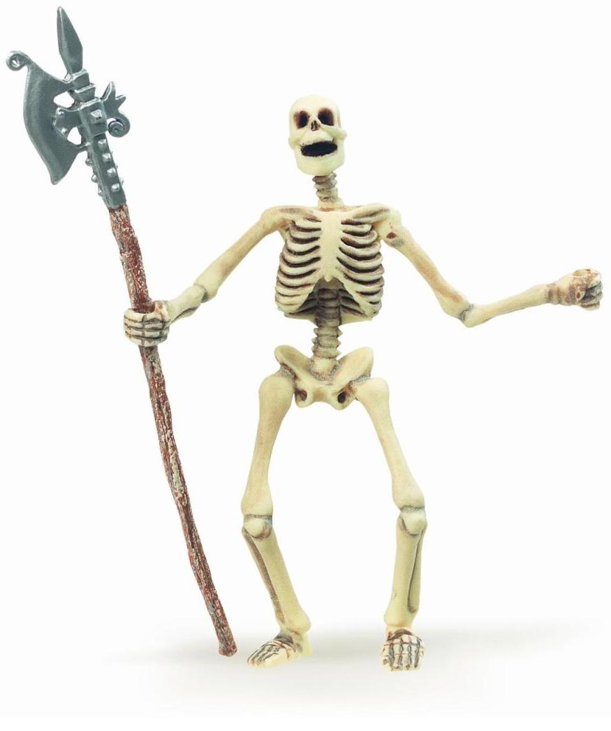 Фигурка скелета, светящегося в темнотеФигурки Papo<br>Фигурка скелета, светящегося в темноте<br>