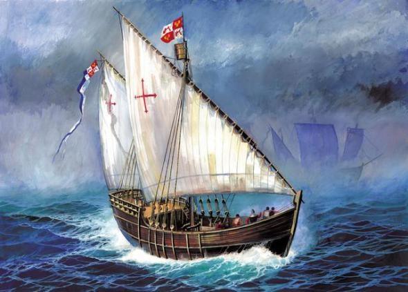 Модель для склеивания  Корабль Нинья - Модели для склеивания, артикул: 98729