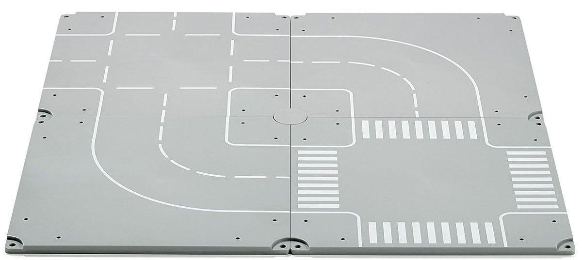 Набор деталей дорожного полотнаЗнаки дорожного движения, светофоры<br>Набор деталей дорожного полотна<br>