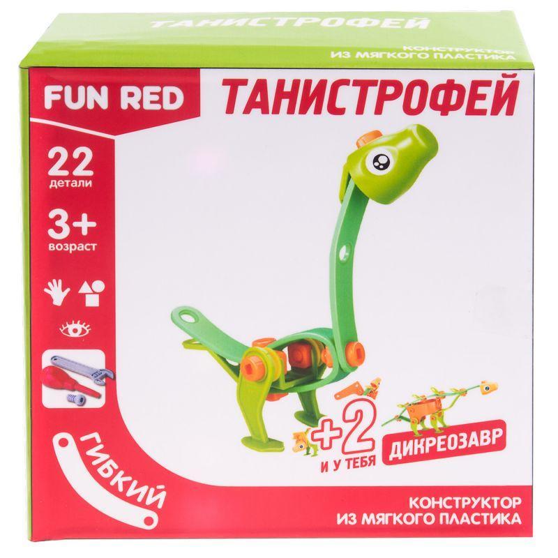 Купить Конструктор гибкий - Танистрофей, 22 детали, Fun Red