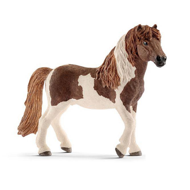 Купить Фигурка лошади - Исландский жеребец Пинто, размер 13 х 4 х 10 см., Schleich