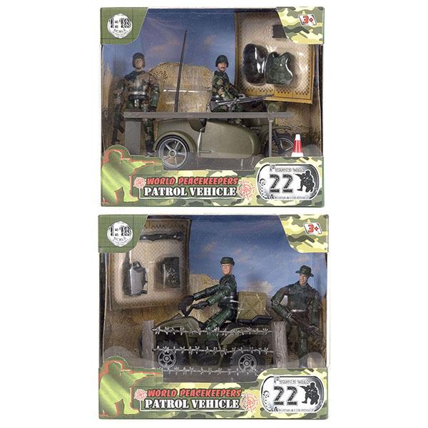 Купить Игровой набор - WP. Патруль, 1:18, 2 фигурки, 2 вида, World Peacekeeper