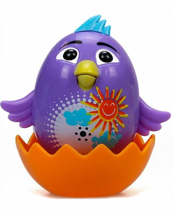 Интерактивная игрушка - Цыпленок с кольцом Violet, фиолетовыйСкидки до 70%<br>Интерактивная игрушка - Цыпленок с кольцом Violet, фиолетовый<br>