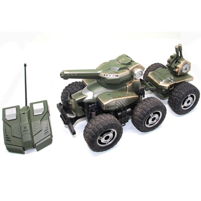 Радиоуправляемая машина с прицепом, стреляет мягкими шарикамиРадиоуправляемые танки<br>Радиоуправляемая машина с прицепом, стреляет мягкими шариками<br>