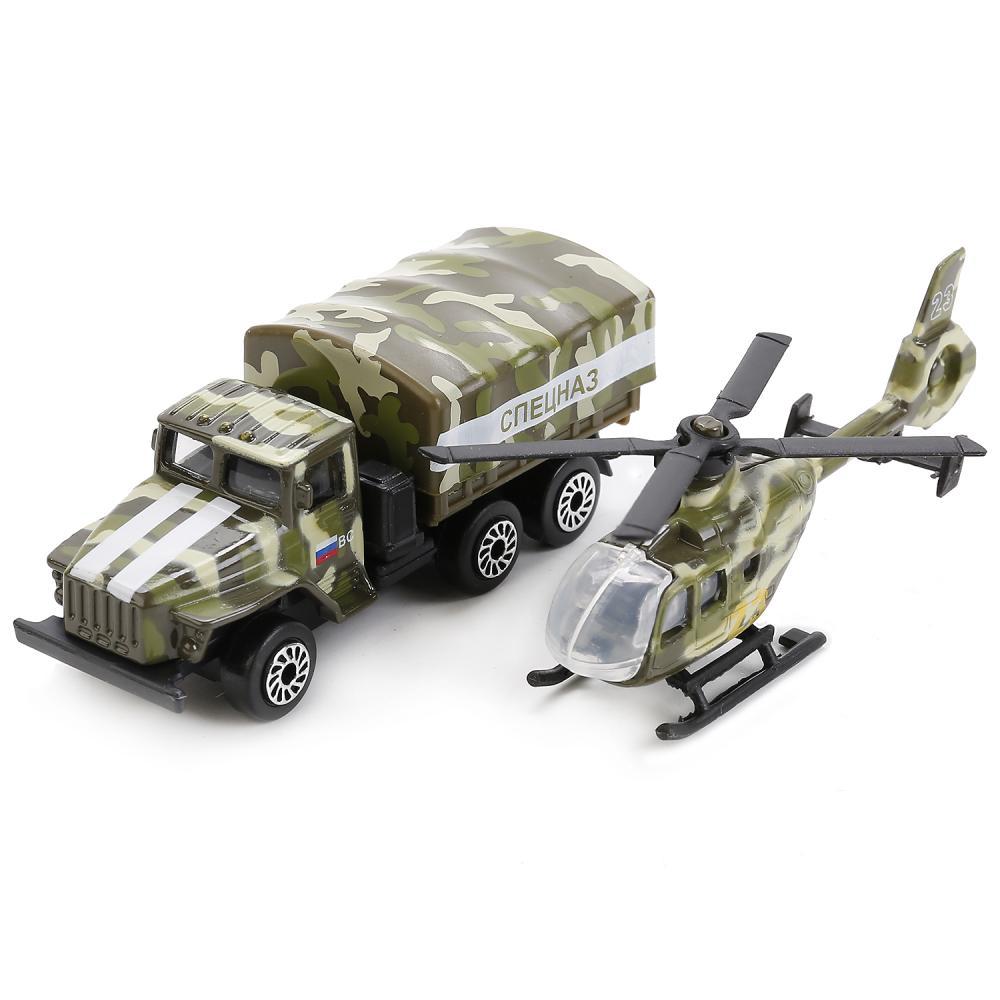 Купить Набор из 2-х металлических моделей – Военная техника 7, 5 см, Технопарк