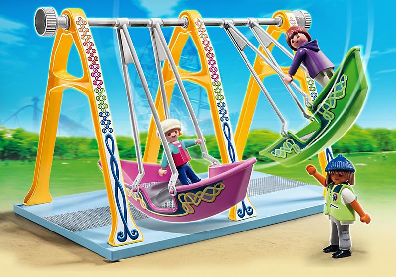 Игровой набор из серии «Парк развлечений» - Аттракцион «Лодка» от Toyway