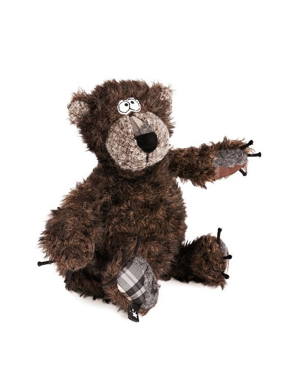 Мягкая игрушка - Бурый мишка