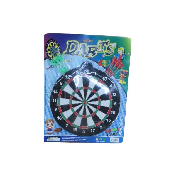 Набор для игры в Дартс, мишень и 6 дротиков с магнитамиАрбалеты и Дартс<br>Набор для игры в Дартс, мишень и 6 дротиков с магнитами<br>