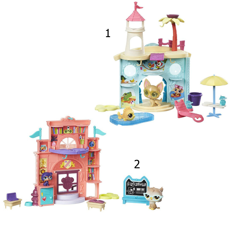 Купить Игровой набор Littlest Pet Shop Дисплей для петов, Hasbro