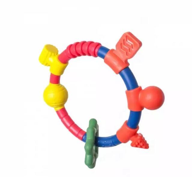Кольцо-прорезыватель для двух рук