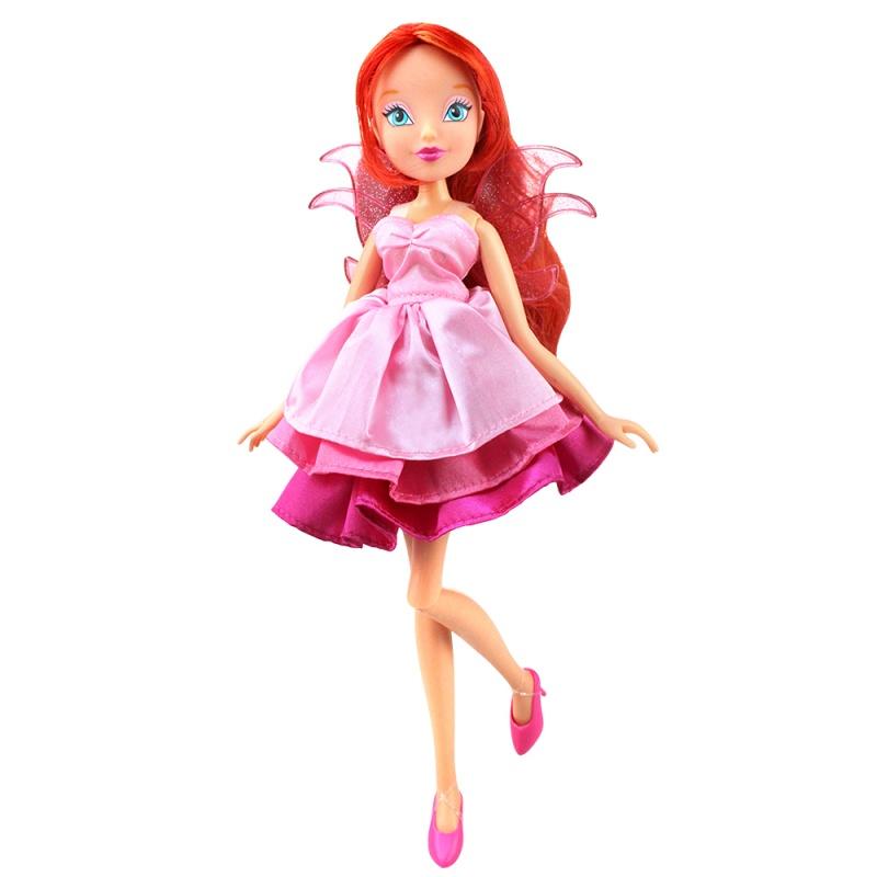 Кукла Winx Club - Волшебное платье - BloomКуклы Винкс (Winx)<br>Кукла Winx Club - Волшебное платье - Bloom<br>
