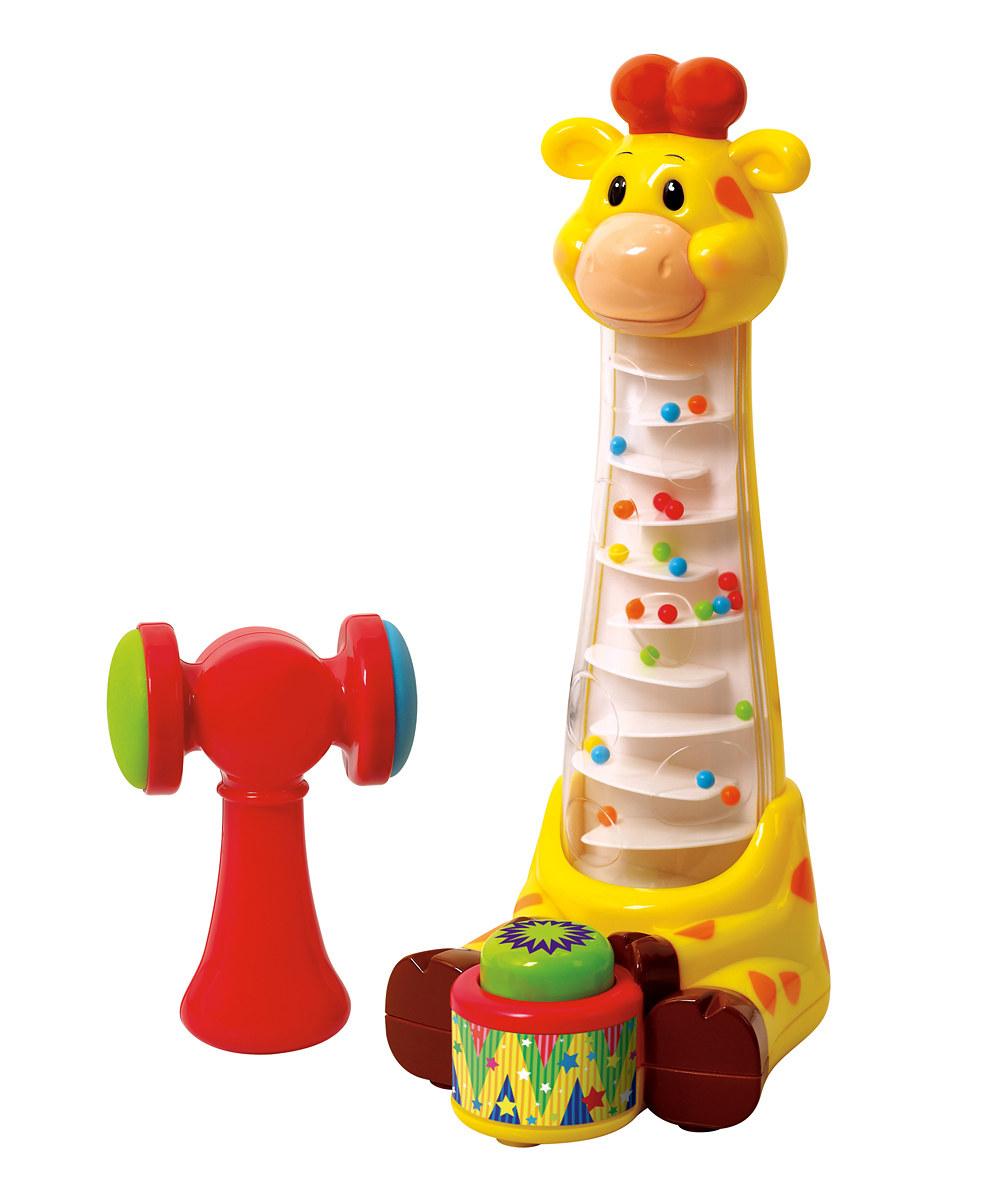 Игрушка развивающая - Забавный жирафРазвивающие игрушки PlayGo<br>Игрушка развивающая - Забавный жираф<br>