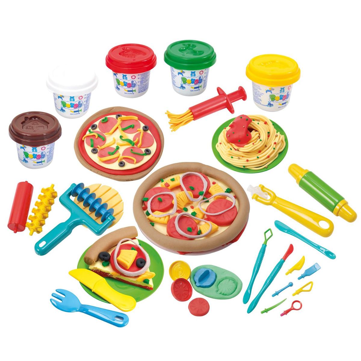 Набор для работы с пластилином - Моя пиццерияНаборы для лепки<br>Набор для работы с пластилином - Моя пиццерия<br>