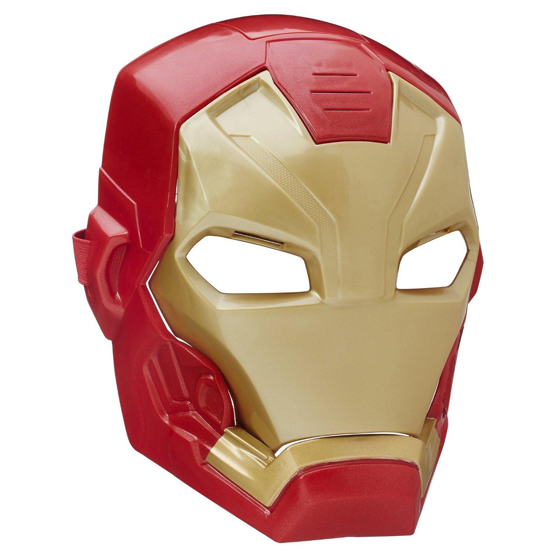 Купить Электронная маска Железного человека из серии «Мстители», Hasbro