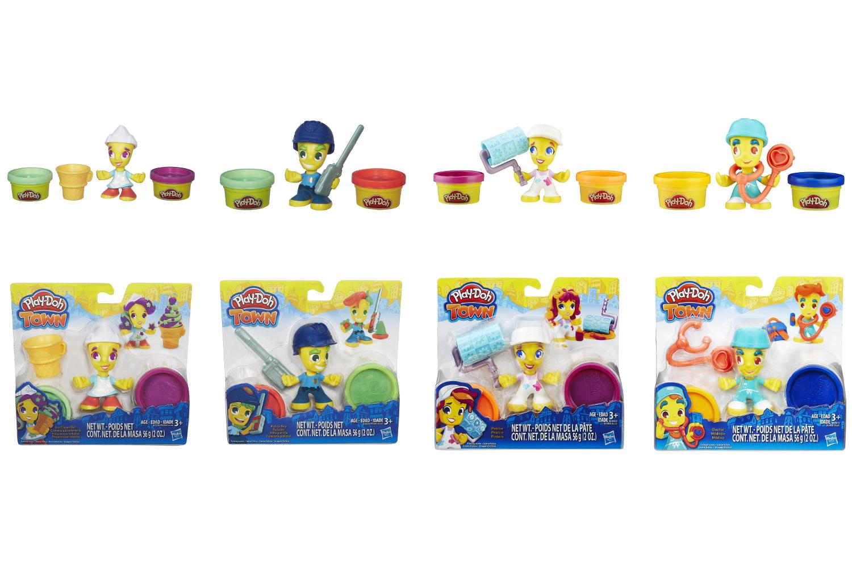 Play-Doh. Игровой набор «Фигурки» из серии ГородПластилин Play-Doh<br>Play-Doh. Игровой набор «Фигурки» из серии Город<br>