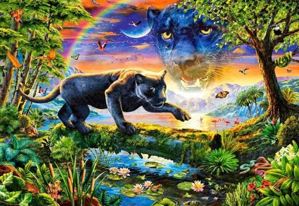 Купить Пазл Castorland 1500 деталей, Пантера
