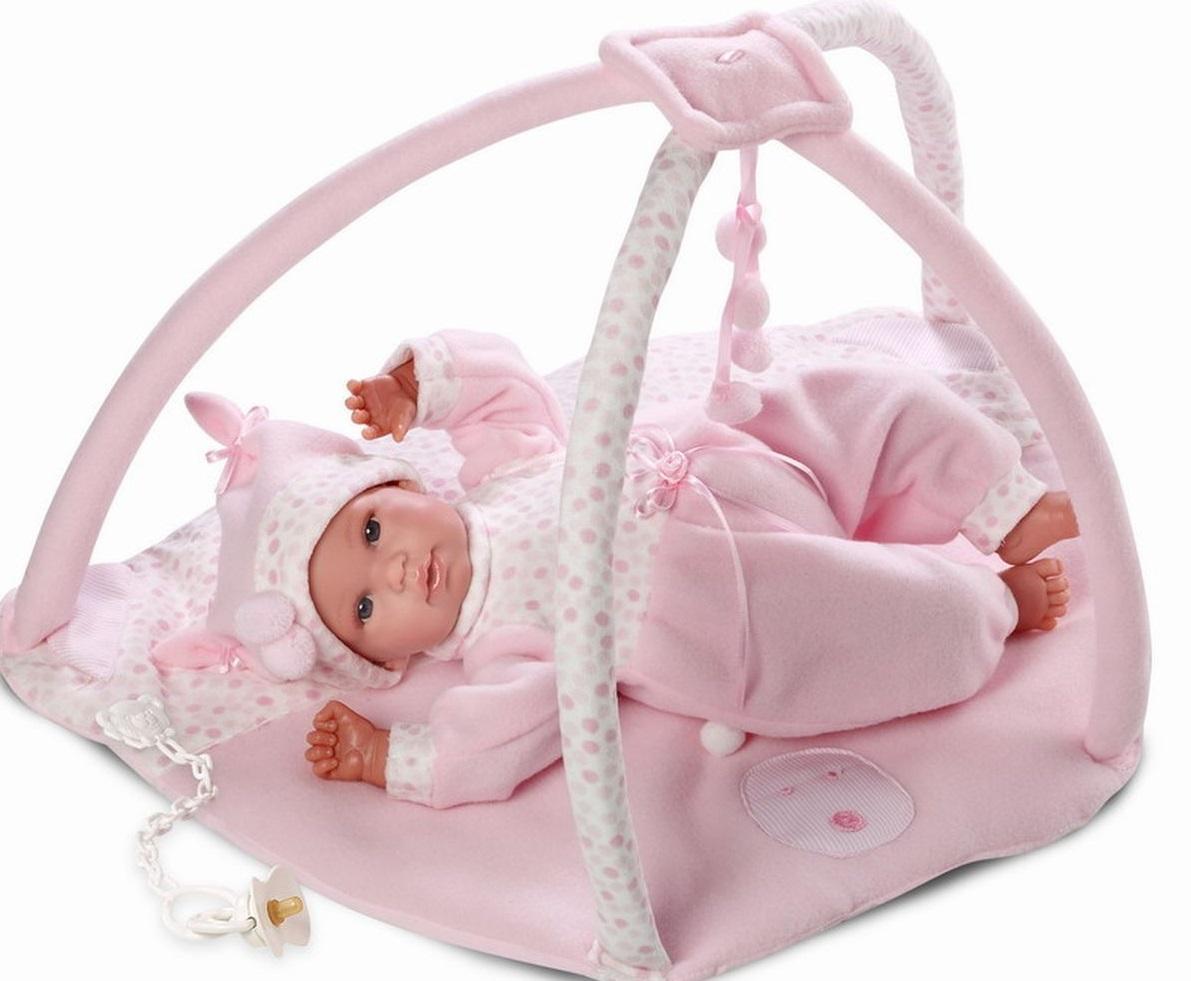 Кукла младенец 36 см. с коврикомИспанские куклы Llorens Juan, S.L.<br>Кукла младенец 36 см. с ковриком<br>