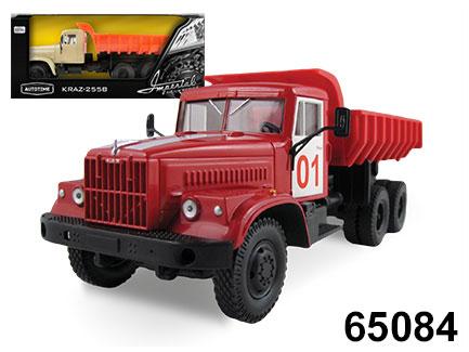 Машинка KRAZ-256B – Пожарная охрана - Пожарные машины, автобусы, вертолеты и др. техника, артикул: 165837