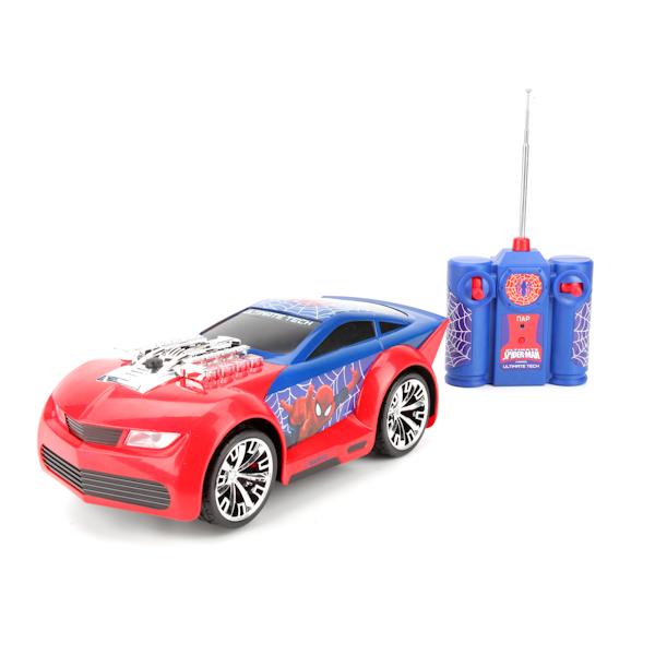 Радиоуправляемая машина Marvel - Человек-Паук, свет, звукSpider-Man (Игрушки Человек Паук)<br>Радиоуправляемая машина Marvel - Человек-Паук, свет, звук<br>