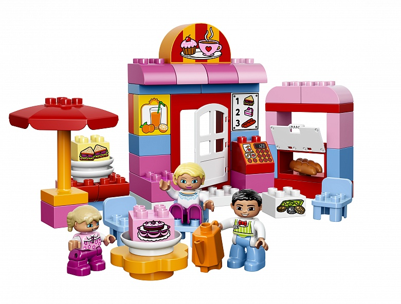 Lego Duplo. Кафе от Toyway