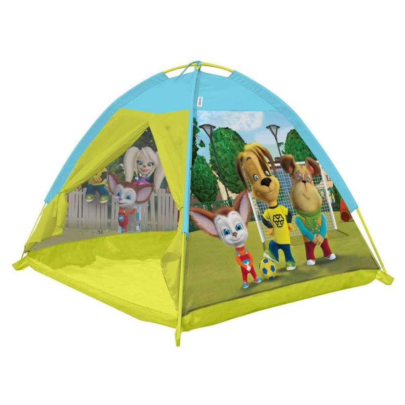 Палатка из серии Барбоскины, размер 112 х 112 х 84 см.Домики-палатки<br>Палатка из серии Барбоскины, размер 112 х 112 х 84 см.<br>