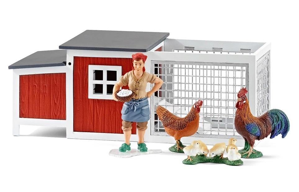Игровой набор Farm Life - КурятникНа ферме (Farm life)<br>Игровой набор Farm Life - Курятник<br>