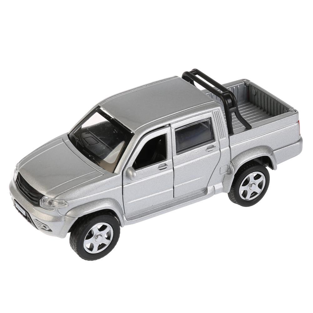 Купить со скидкой Инерционная металлическая машина - Uaz Pickup, 12 см