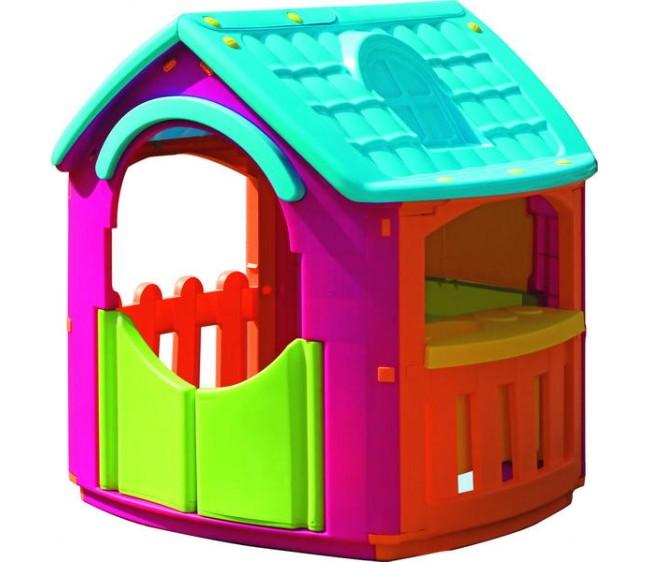 Детский игровой домик-кухняПластиковые домики для дачи<br>Детский игровой домик-кухня<br>