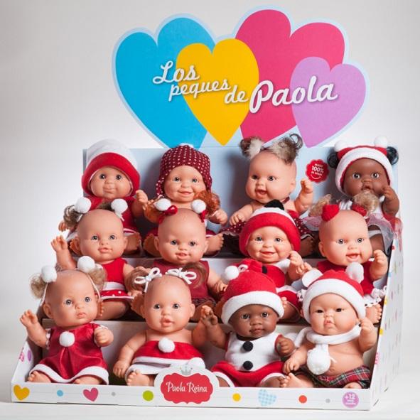 Купить Куклы пупсы 22 см. из серии Санта Клаус, 12 видов, Paola Reina
