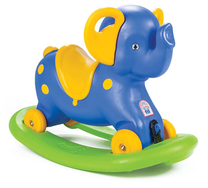 Качалка-каталка СлонДетские кресла-качалки<br>Качалка-каталка Слон<br>